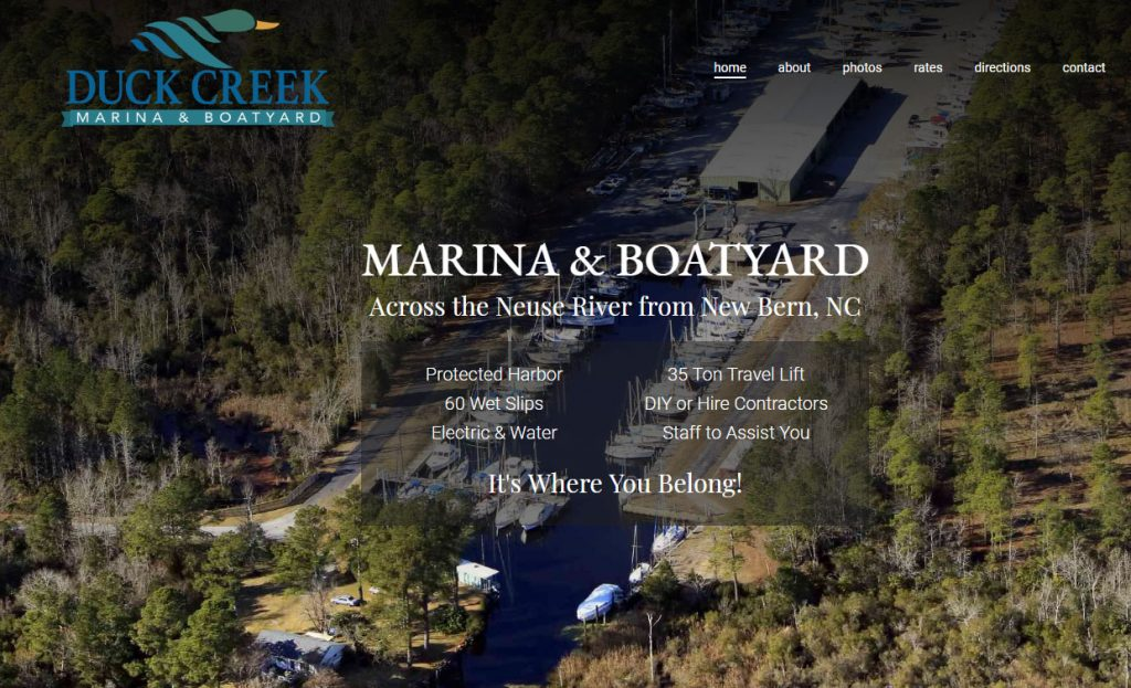 marina website