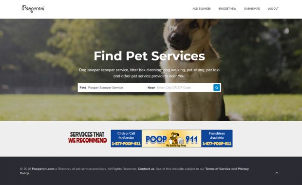 find pet services