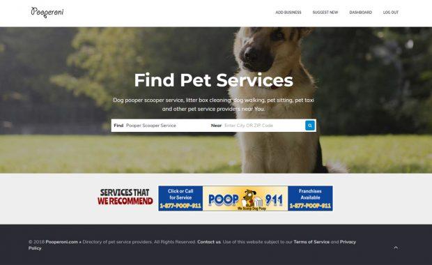 find pet services